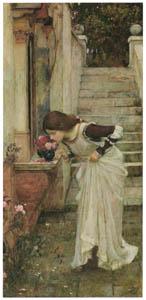 thumbnail John William Waterhouse – The Shrine [from J.W. Waterhouse]