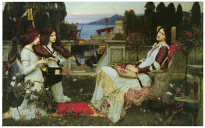 thumbnail John William Waterhouse – St. Cecilia [from J.W. Waterhouse]