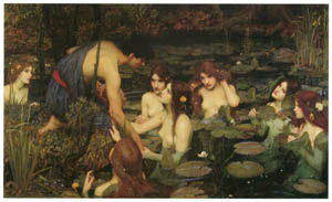 thumbnail John William Waterhouse – Hylas and the Nymphs [from J.W. Waterhouse]
