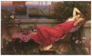 thumbnail John William Waterhouse – Ariadne [from J.W. Waterhouse]