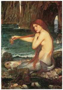 thumbnail John William Waterhouse – A Mermaid [from J.W. Waterhouse]