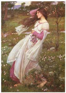 thumbnail John William Waterhouse – Windflowers [from J.W. Waterhouse]