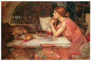 ジョン・ウィリアム・ウォーターハウス – 魔女 [J.W. Waterhouseより]のサムネイル画像