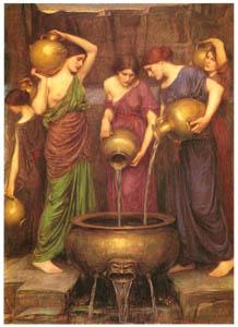 ジョン・ウィリアム・ウォーターハウス – ダナイデス [J.W. Waterhouseより]のサムネイル画像