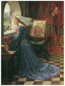 ジョン・ウィリアム・ウォーターハウス – 麗しのロザムンド [J.W. Waterhouseより]のサムネイル画像