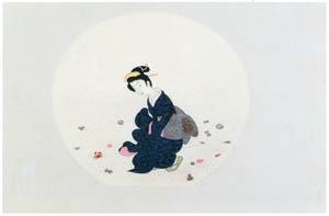 小村雪岱 – 浜辺 [版画芸術 146号より]のサムネイル画像