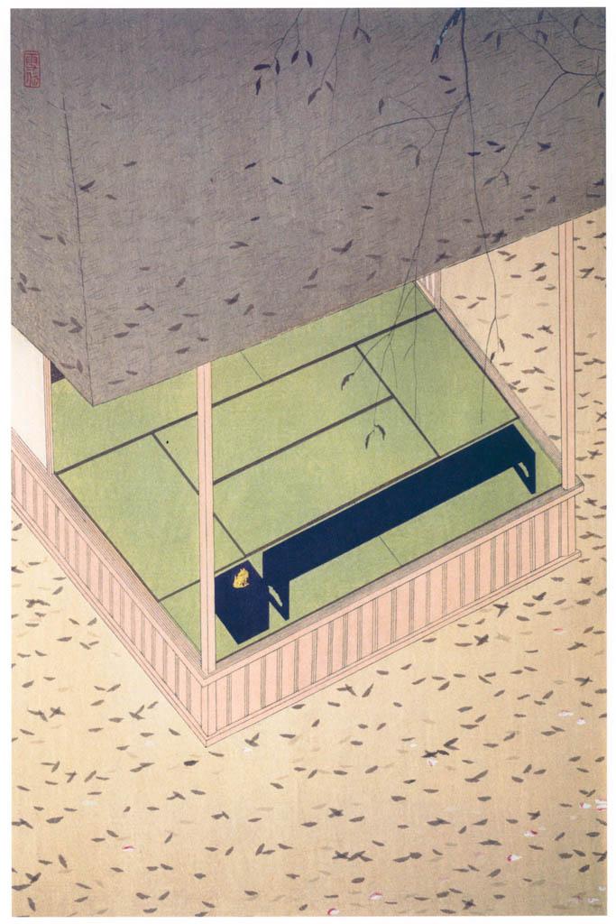 Komura Settai – Fallen Leaves [from Hanga Geijutsu No.146]