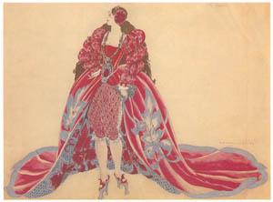 ウンベルト・ブルネレスキ – タイタンコスチューム [Umberto Brunelleschi Illustrazioni 1930-1949より]のサムネイル画像