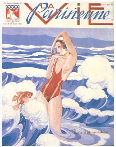 thumbnail Umberto Brunelleschi – La Vie Parisienne, 27 Agosto 1932 [from Umberto Brunelleschi Illustrazioni 1930-1949]