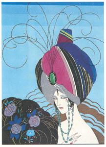 ウンベルト・ブルネレスキ – アベル・エルマン著「フィリまたは善と悪を超え」の挿絵 [Umberto Brunelleschi Illustrazioni 1930-1949より]のサムネイル画像