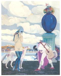 ウンベルト・ブルネレスキ – 美しい出会い [Umberto Brunelleschi Illustrazioni 1930-1949より]のサムネイル画像