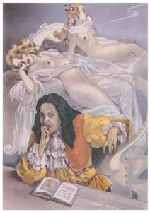 ウンベルト・ブルネレスキ – アンリ・ド・レニエ著「罪深き女」の挿絵 [Umberto Brunelleschi Illustrazioni 1930-1949より]のサムネイル画像