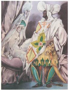ウンベルト・ブルネレスキ – ジャン・ド・ラ・フォンテーヌ著「風流譚」の挿絵2 [Umberto Brunelleschi Illustrazioni 1930-1949より]のサムネイル画像