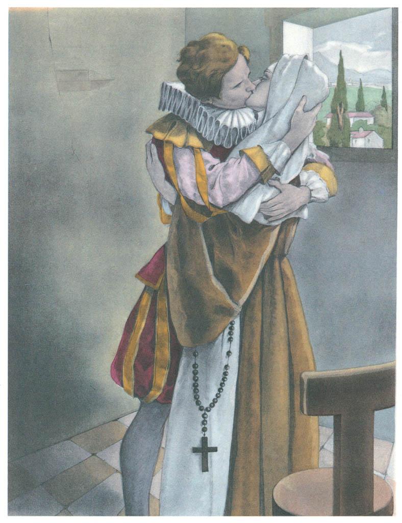 Umberto Brunelleschi – Tavola per Contes et Nouvelles di J. de la Fontaine 3 [from Umberto Brunelleschi Illustrazioni 1930-1949]