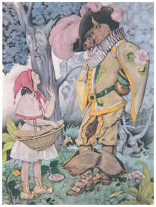 ウンベルト・ブルネレスキ – シャルル・ペローの童話集の挿絵 3 [Umberto Brunelleschi Illustrazioni 1930-1949より]のサムネイル画像