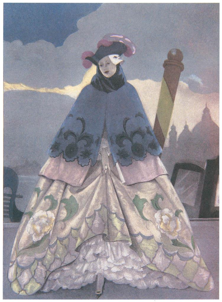 Umberto Brunelleschi – Tavola per Mémoires di G.G. Casanova 7 [from Umberto Brunelleschi Illustrazioni 1930-1949]