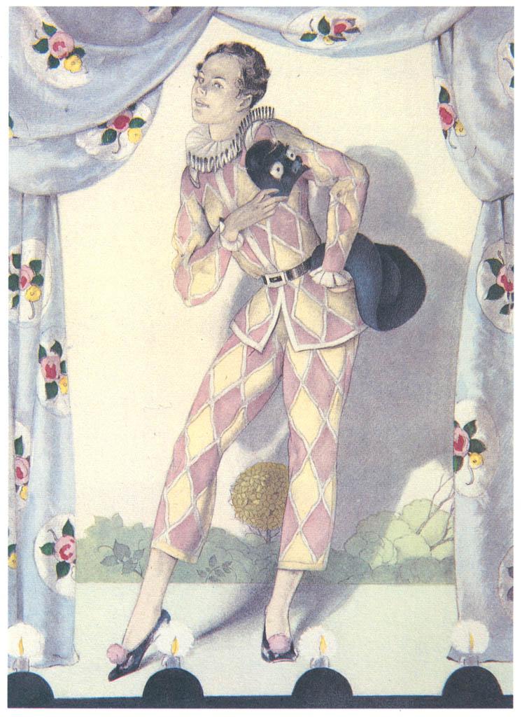 Umberto Brunelleschi – Tavola per Mémoires di G.G. Casanova 10 [from Umberto Brunelleschi Illustrazioni 1930-1949]
