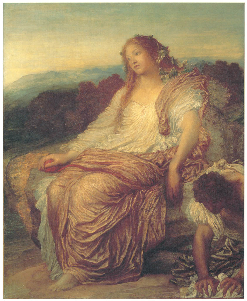 George Frederic Watts – Ariadne [from Winthrop Collection of the Fogg Art Museum]