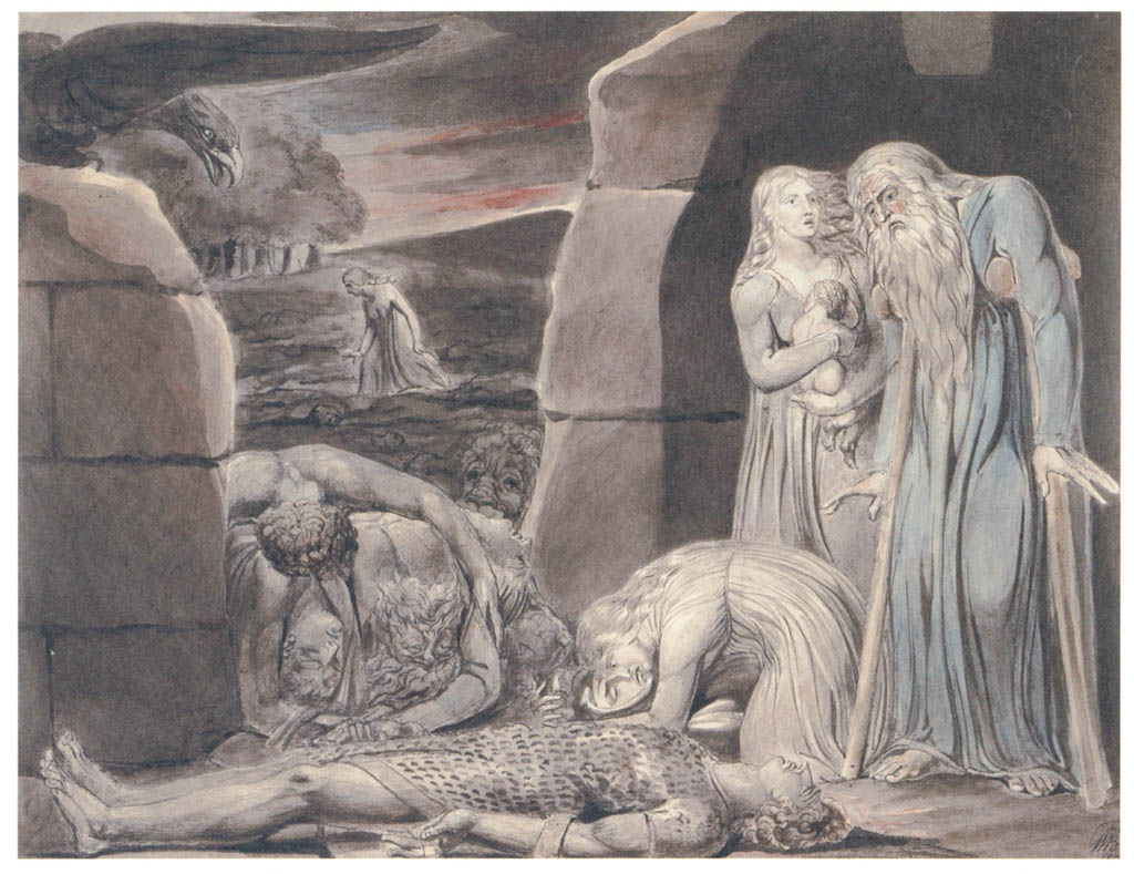 William Blake – War [from Winthrop Collection of the Fogg Art Museum]