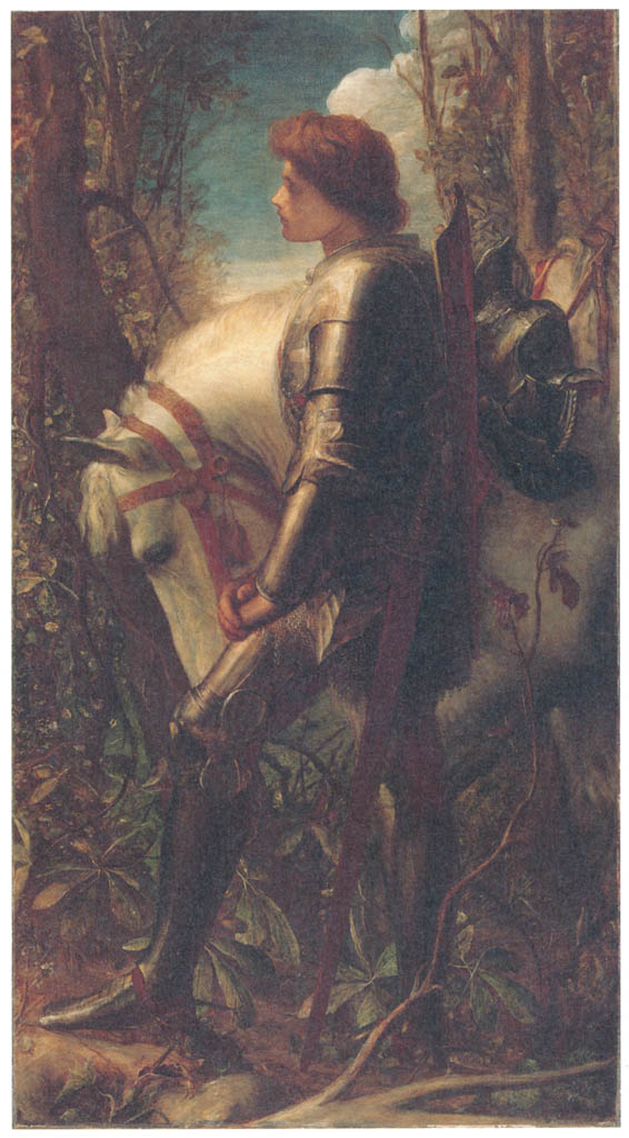 George Frederic Watts – Sir Galahad [from Winthrop Collection of the Fogg Art Museum]