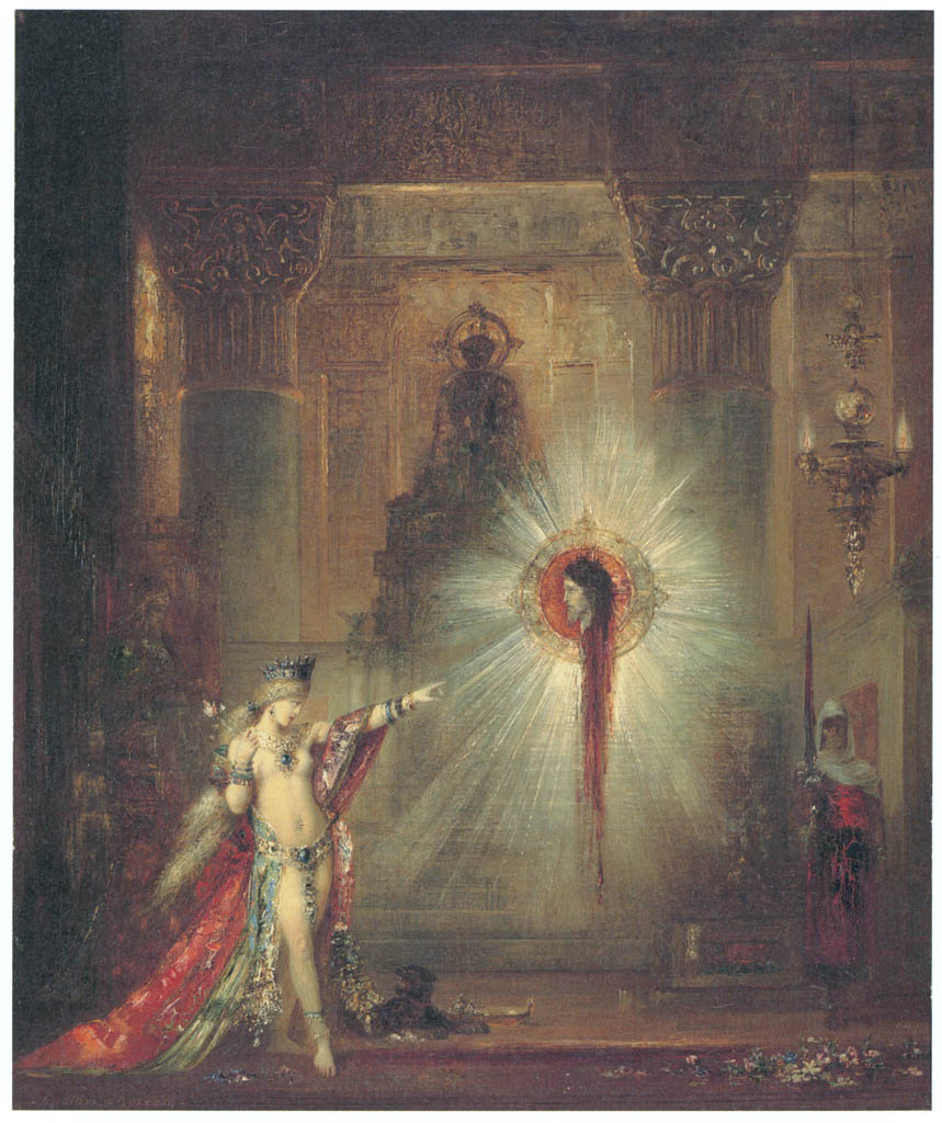 Gustave Moreau – The Apparition [from Winthrop Collection of the Fogg Art Museum]