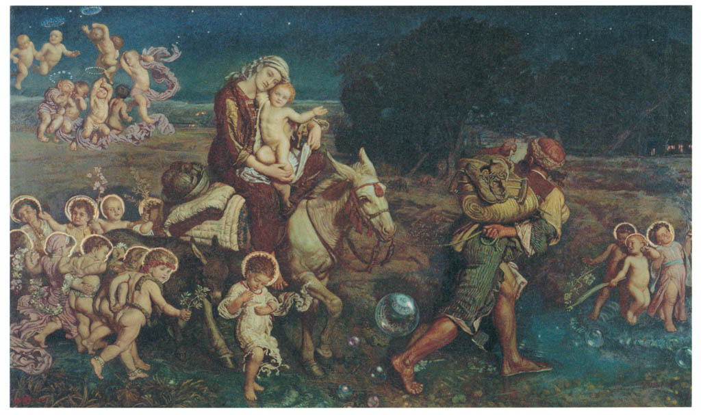 William Holman Hunt – The Triumph of the Innocents [from Winthrop Collection of the Fogg Art Museum]