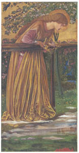 thumbnail Edward Burne-Jones – The Blessed Damozel [from Winthrop Collection of the Fogg Art Museum]
