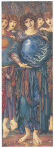 thumbnail Edward Burne-Jones – The Days of Creation: the Fifth Day [from Winthrop Collection of the Fogg Art Museum]