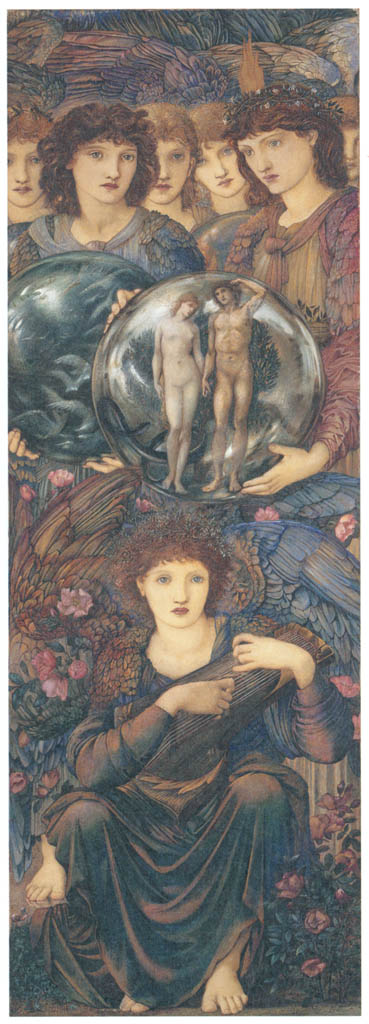 Edward Burne-Jones – The Days of Creation: the Sixth Day [from Winthrop Collection of the Fogg Art Museum]