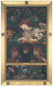 thumbnail Dante Gabriel Rossetti – The Blessed Damozel [from Winthrop Collection of the Fogg Art Museum]