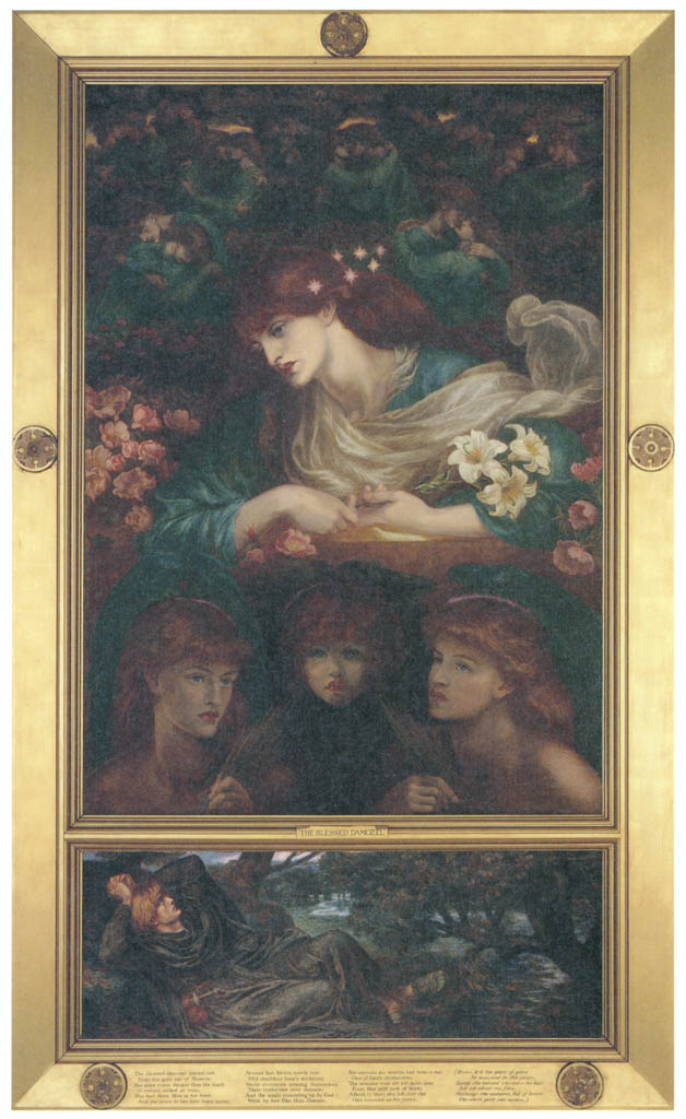 Dante Gabriel Rossetti – The Blessed Damozel [from Winthrop Collection of the Fogg Art Museum]