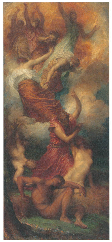 George Frederic Watts – The Creation of Eve [from Winthrop Collection of the Fogg Art Museum]