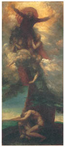 thumbnail George Frederic Watts – The Denunciation of Adam and Eve [from Winthrop Collection of the Fogg Art Museum]