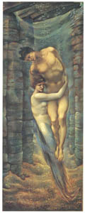 thumbnail Edward Burne-Jones – The Depths of the Sea [from Winthrop Collection of the Fogg Art Museum]