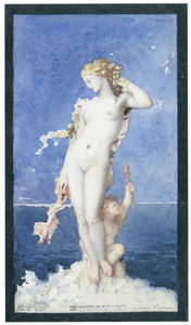 thumbnail Gustave Moreau – Aphrodite [from Winthrop Collection of the Fogg Art Museum]