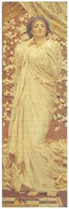 アルバート・ジョゼフ・ムーア – 花 [ウィンスロップ・コレクション フォッグ美術館所蔵19世紀イギリス・フランス絵画 より]のサムネイル画像