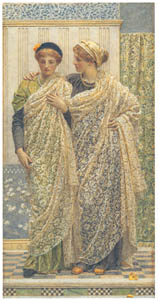 アルバート・ジョゼフ・ムーア – ふたりづれ [ウィンスロップ・コレクション フォッグ美術館所蔵19世紀イギリス・フランス絵画 より]のサムネイル画像