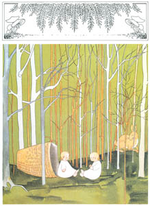 thumbnail Sibylle von Olfers – Plate 1 [from The Story of the Rabbit Children]