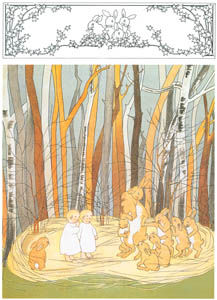 thumbnail Sibylle von Olfers – Plate 3 [from The Story of the Rabbit Children]