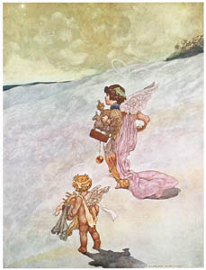 thumbnail Charles Robinson – Winter [from The Fantastic Paintings of Charles & William Heath Robinson]