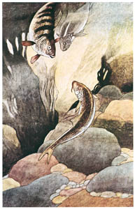 thumbnail Charles Robinson – I Don't Think Your Name Can be Margaret said Perch You Don't Look Like Margaret (Margaret's Book) [from The Fantastic Paintings of Charles & William Heath Robinson]