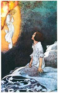 チャールズ・ロビンソン – マーガレットの本の挿絵3 [The Fantastic Paintings of Charles & William Heath Robinsonより]のサムネイル画像