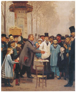 thumbnail Ilya Repin – A Newspaper Seller in Paris [from Ilya Repin: Master Works from The State Tretyakov Gallery]