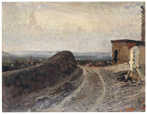 thumbnail Ilya Repin – Road to Montmartre in Paris [from Ilya Repin: Master Works from The State Tretyakov Gallery]