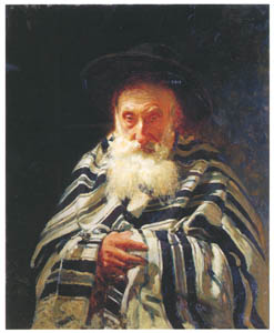 thumbnail Ilya Repin – Jew at Prayer [from Ilya Repin: Master Works from The State Tretyakov Gallery]