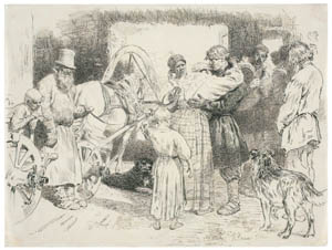 thumbnail Ilya Repin – Seeing Off a Recruit [from Ilya Repin: Master Works from The State Tretyakov Gallery]