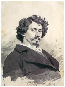 thumbnail Ilya Repin – Self-portrait [from Ilya Repin: Master Works from The State Tretyakov Gallery]