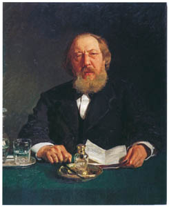 thumbnail Ilya Repin – Portrait of the Publicist Ivan S. Aksakov [from Ilya Repin: Master Works from The State Tretyakov Gallery]
