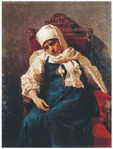 thumbnail Ilya Repin – Portrait of the Actress Pelageya A. Strepetova in the Role of Elizaveta [from Ilya Repin: Master Works from The State Tretyakov Gallery]