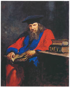 thumbnail Ilya Repin – Portrait of the Chemist Dmitry I. Mendeleev Wearing Professorial Gown of Edinburgh University [from Ilya Repin: Master Works from The State Tretyakov Gallery]